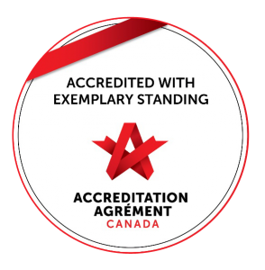 Accredited with exemplary standing - accreditation Canada